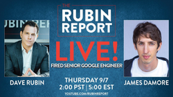 James Damore on                               The Rubin Report                              ​ (September 8, 2017)