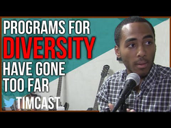Hughes argues diversity programs have gone too far.