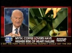 COFFEE IS NOT UNHEALTHY Fox News Sunday Housecall Dr. Isadore Rosenfeld (2009)