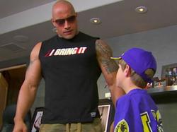 MattyB appears on                               WWE                              's                               Monday Night RAW                               in 2011