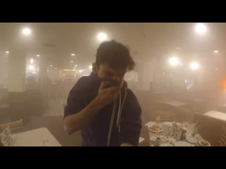 A viewer sets off a fire extinguisher while Ice Poseidon was eating.
