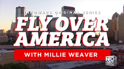 "Millie Weaver's first episode of ""Flying over America"" (in Dallas, Texas)"