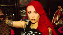 Megan Massacre shows her fans her closet (via OhCosmoTV)