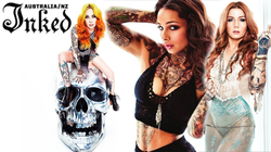 Inked Magazine                              's photoshoot with Megan Massacre, Teneile Napoli and                                             Cleo Wattenstrom