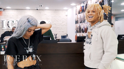 Trippie Redd + Angvish + Plus New Hair Back In ICEBOX!!!