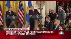 Saagar Enjeti                              Quizzes                               President Trump                               and                               Prime Minister of Sweden                               March 6 2018 |                               NBC News                              