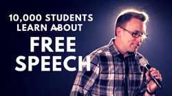 Brooks Gibbs talks about the myth that words hurt and freedom of speech