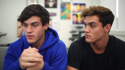 """Bye for Now"" (uploaded by Dolan Twins on March 27, 2018)"