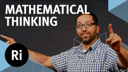 "Jordan Ellenberg                                  ​ gives a presentation at the                                                      Royal Institution                                    ​                                                     based on his book                                  : ""How Not to Be Wrong: The Power of Mathematical Thinking"""