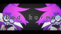 Sleepykinq's Bad Karma meme