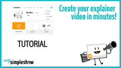 Watch this HOW TO guide and create an explainer video with mysimpleshow.com in minutes!