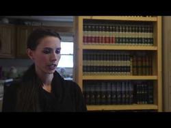 Rachael Denhollander talks about her alleged abuse by former MSU Dr. Larry Nassar.