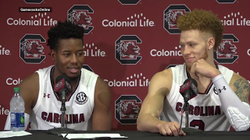 POST-GAME: Hassani Gravett, Wesley Myers on Virginia Tech — 11/5/17