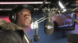 The video where                               Michael Dapaah                              plays the character of Big Shack doing a freestyle for                               BBC Radio                              ​ that went viral.