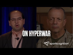 """AI on the Front Line - discussing """"On Hyperwar"""" by Gen. Allen and Amir Husain of SparkCognition"""