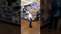FULL VERSION OF THE WALMART BOY YODELING!
