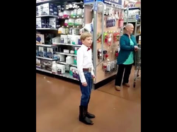 Walmart Kid Yodelling + extra footage & interview - Mason Ramsey