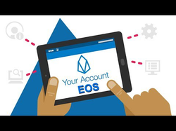 Tutorial on creating an EOS account