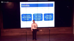 Tutor. Accelerator Demo Day Pitch at the Google Fiber Space