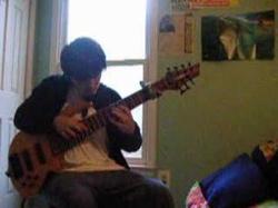 adam covering Scott Joplin's Maple leaf rag on 7 string bass