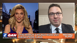Alex VanNess discusses the                                       Anti-Semitism                                       that is pervasive throughout progressive politics on the                                       One America News Network                                       show Tipping Point with                                       Liz Wheeler                                      .