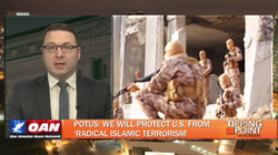 """Alex VanNess discusses President Trump's address to congress and use of the term """"Radical Islamic Terrorism"""" on                                       One America News Network                                       show Tipping Point with                                       Liz Wheeler                                      ."""