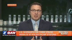 Alex VanNess on One America News' Tipping Point where discussing U.S. military actions in Yemen with host Liz Wheeler.