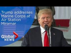 The full speech at Miramar Naval Station