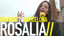 ROSALÍA - HERE WITH YOU (BalconyTV).