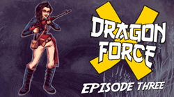 Austin in Dragon Force X (a comedic, 90's, vintage web series)