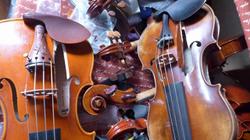 Destroys 54 Violins Shanghai Woman Arrested 河宮碧秦悦逮捕