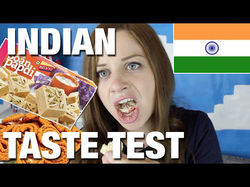 Elly Awesome's Indian food taste test