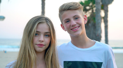 "Jade Weber is featured in MattyBRaps ' music video for ""Moment"""