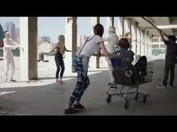 Jade Weber in a                               Kohl's                               commercial (2015)