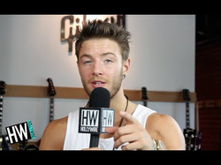 Drew Chadwick talks about leaving Emblem3 and his solo career (circa 2014)