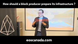 How Should an EOS Block Producer Prepare its Infrastructure?