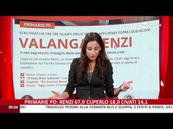 Giorgia Cardinaletti presenting RaiNews24 on 08-12-2013