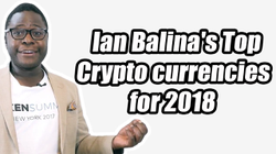 Ian Balina's Top Cryptocurrencies for 2018 That Can Do 100x (Clip from Live Stream)