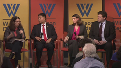 Susan Hennessey on a panel discussing the encryption debate