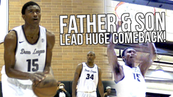 Metta World Peace & His SON Lead COMEBACK @ Drew League! Ron Artest III Plays Like Metta!.