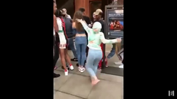 Footage of Woahvicky getting into a fight with                               Danielle Bregoli                              ​
