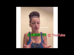 "Danielle Bregoli address whether she had sex with                               Kodak Black                              (her answer is ""No."")"