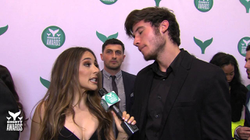 Interview with Brandon Calvillo on the teal carpet at the 8th Annual Shorty Awards