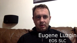 Eugene Luzgin presentation March 29th Seattle EOS meetup
