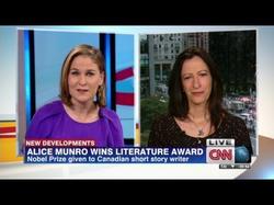 Alice Munro wins Nobel Prize for literature.