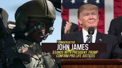 John James Releases New Ad: Flight Suit