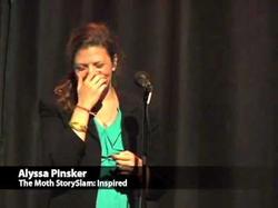 Alyssa Pinsker, Moth StorySlam: Inspired