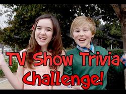 The TV Show Trivia Challenge With Casey Simpson (w/                               Aubrey K Miller                              )