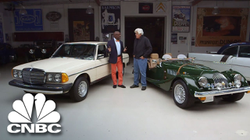 Jay Leno's Garage                              ​: Jay And Donald Osborne Access Cars That Run On Anything But Gas |                               CNBC                              ​ Prime