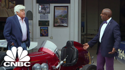 Jay Leno's Garage: Jay Leno And Donald Osborne Check Out Collectible Off-Road Cars | CNBC Prime